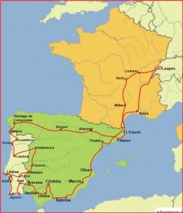 Länderkarte 11 Ende