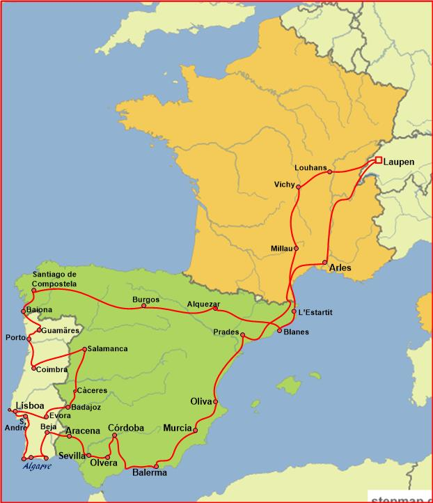 Spanien-Portugal
